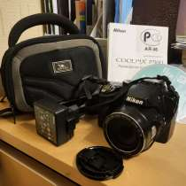 Цифровой фотоаппарат Nikon coolpix p500 бу, в Москве