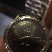 Часы кварц Omega De Ville, в Москве