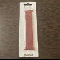 Ремешок Apple Watch 38-40, красный, в Волгограде