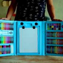 Детский набор художника. Быстрая доставка по РФ, в Омске