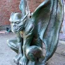 Горгулья думает - скульптура, в Краснодаре