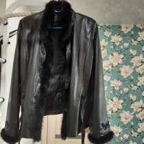 Продам женскую куртку из натуральной кожи MARKOFF, в Ангарске