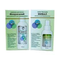 Набор: крем-бальзам «МИВАЛ» и шампунь «ФлорасилиК», в Казани