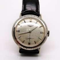 Винтажные мужские золотые 14k (585 проба) часы Longines, в Москве