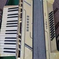 Инструмент аккордеон hohner verdii немецкий трофейный, в Ульяновске