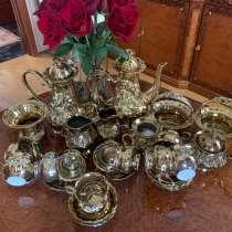 Чайный/ кофейный позолоченный Сервиз, в Санкт-Петербурге