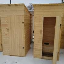 Туалет дачный деревянный, в Волгограде
