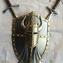 """Светильник-пано""""Скрещенные мечи"""", в Краснодаре"""