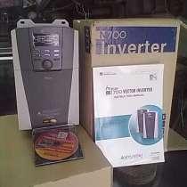 Инвертер 7,5квт для управления асинхронным эл. двигателем, в Приморско-Ахтарске