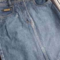 Новая синяя джинсовая юбка 30 размера, в Пятигорске