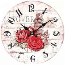 """Часы настенные Белоснежка """"Пизанская башня"""", в Кандалакше"""