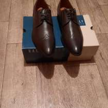 Продам туфли мужские ральф коричневые р-р 45, в Ангарске