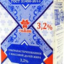 Молоко Тяжин, в Москве