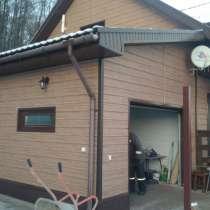 Продажа, монтаж сайдинга, фасадных панелей, водосточных, в Уфе