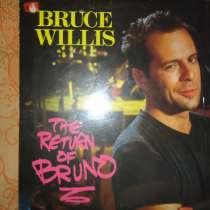 Продам виниловый диск Брюса Уиллиса 1987 The return to Bruno, в Красноярске