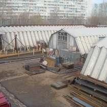 Земельный участок с ангарами в аренду, в Москве