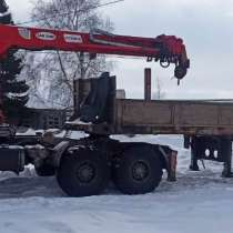 Продам КАМАЗ тягач,6х6,2013г/в, ямобур, КМУ 7.5тн, Ю. Корея, в Оренбурге