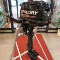 Новый четырехтактный лодочный мотор Mercury F5M 2018года, в Санкт-Петербурге