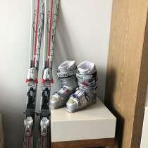 Горные лыжи и ботинки, в Сочи