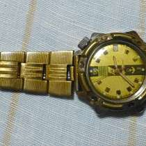 Продам нар. часы Адмиральские с браслетом, в Красногорске