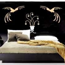 Инкрустированное кожаное панно для спальни, в г.Донецк