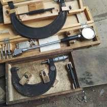 Продаю микрометры и нутромер, в Лабытнанги