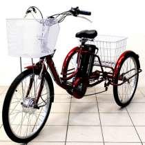 Электровелосипед трехколесный для взрослых Иж-Байк Фермер, в Москве