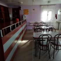 Продам кафе. на территории гостиничный домик, баня, в Томске