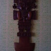 Перуанская деревянная маска, в Керчи