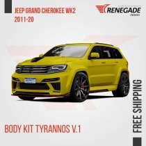 Body Kit for Jeep Grand Cherokee WK2 SRT8 2011-2017 Renegade, в г.Боа-Виста
