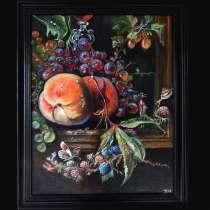 Копия натюрморта Абрахама Миньон художник Виорика Нови, в Москве