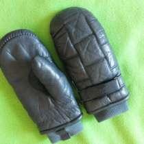 Варежки кожаные зимние Take Two -33, в Омске