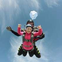 Полеты на параплане, прыжки с парашютом, в г.Сухум