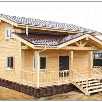 Строительство домов и коттеджей из профилированного бруса, в Чите