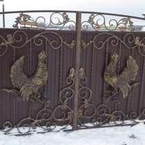 Барельефы,скульптуры из металла для изготовления ворот,забор, в Краснодаре