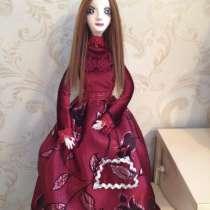 Интерьерная кукла из полимерной глины, в Верхнем Уфалее