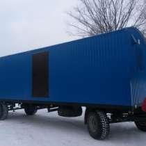 Жилые вагон-дома на колесах, в Уфе