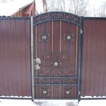 Ворота калитки, в Брянске