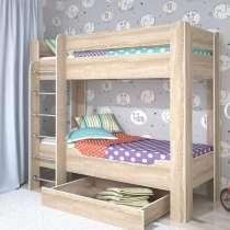 Двухъярусная кровать, двуспальная, детская, в Армавире
