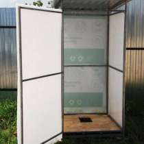 Кабина дачного туалета, в Нефтегорске