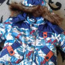 Куртка с камбенезоном размер116 на 3 4 года, в Ростове-на-Дону