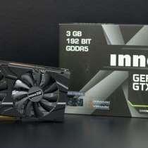 Улан-удэ,продается видеокартаINNO 3D GeForce GTX 1060 3GB OC, в Улан-Удэ
