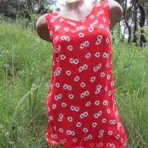 Легкое красное женское платье, в г.Днепродзержинск