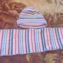 Шапка + шарфик, в Омске