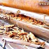 Заменить гнилые бревна в деревянном доме, в Раменское