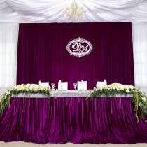 Оформление зала на свадьбу в Звенигороде, в Звенигороде