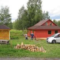 Новый дом на 140 сотках на озере у леса, в Санкт-Петербурге