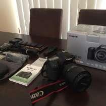 Canon EOS 5D Mark III DSLR камеры с объективом 24-105мм, в Москве