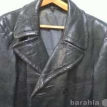 Пальто, кожанное, Военное пальто, в Краснодаре