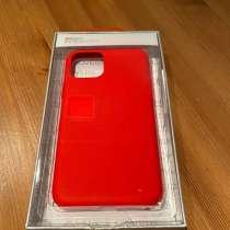 Чехол на iPhone 11 Pro красный, в Москве